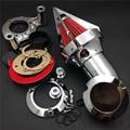 Del mercado de accesorios de motocicleta envío libre Cono Aire Spike Limpiador para Harley Davidson 2008-2012 Dyna Road King Electra Glide FLHX CD