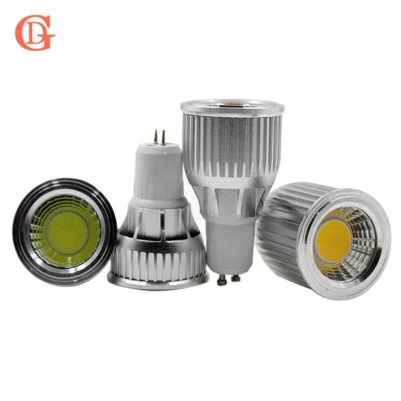 10 шт. 3 Вт 5 Вт 7 Вт 9 Вт 10 Вт 12 Вт Светодиодный прожектор AC85-265V <font><b>E27</b></font> E14 Gu5.3 COB затемнения Gu10 <font><b>LED</b></font> 12 В MR16 <font><b>LED</b></font> Gu10 светодиодные светильники спот