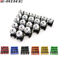 20X 6MM Motorcycle Accessories Fairing Body Work Bolts FOR YAMAHA KTM Bmw R 1200 GS V
