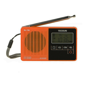 Image 4 - TECSUN PL 118 خفيفة للغاية راديو صغير PLL DSP FM الفرقة راديو الإنترنت المحمولة Am Fm راديو FM:76.0 108MH /87.0 108MHz