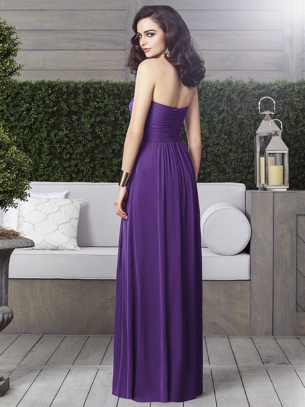 Size 0 bridesmaid dresses vosoi charming long purple chiffon bridesmaid dresses plus size 2015 new ombrellifo Gallery