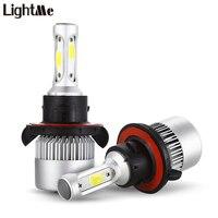 S2 H13 Pair Of Car LED Headlight 9 30V 72W 6000K Automobile Front Lamp LED Car