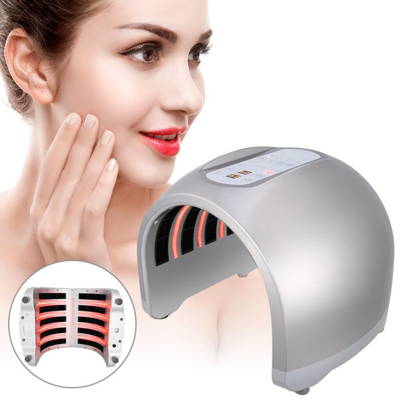 4 Colors PDT Acne Removal Face LED Light Therapy Skin Rejuvenation Facial Body Beauty SPA Mask Skin Tighten Anti Wrinkle Device
