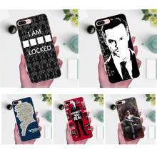 Jim Moriarty Sherlock Holmes coque souple multicolore pour Xiaomi Redmi Note 2 3 3 S 4 4A 4X5 5A 6 6A Pro Plus(China)