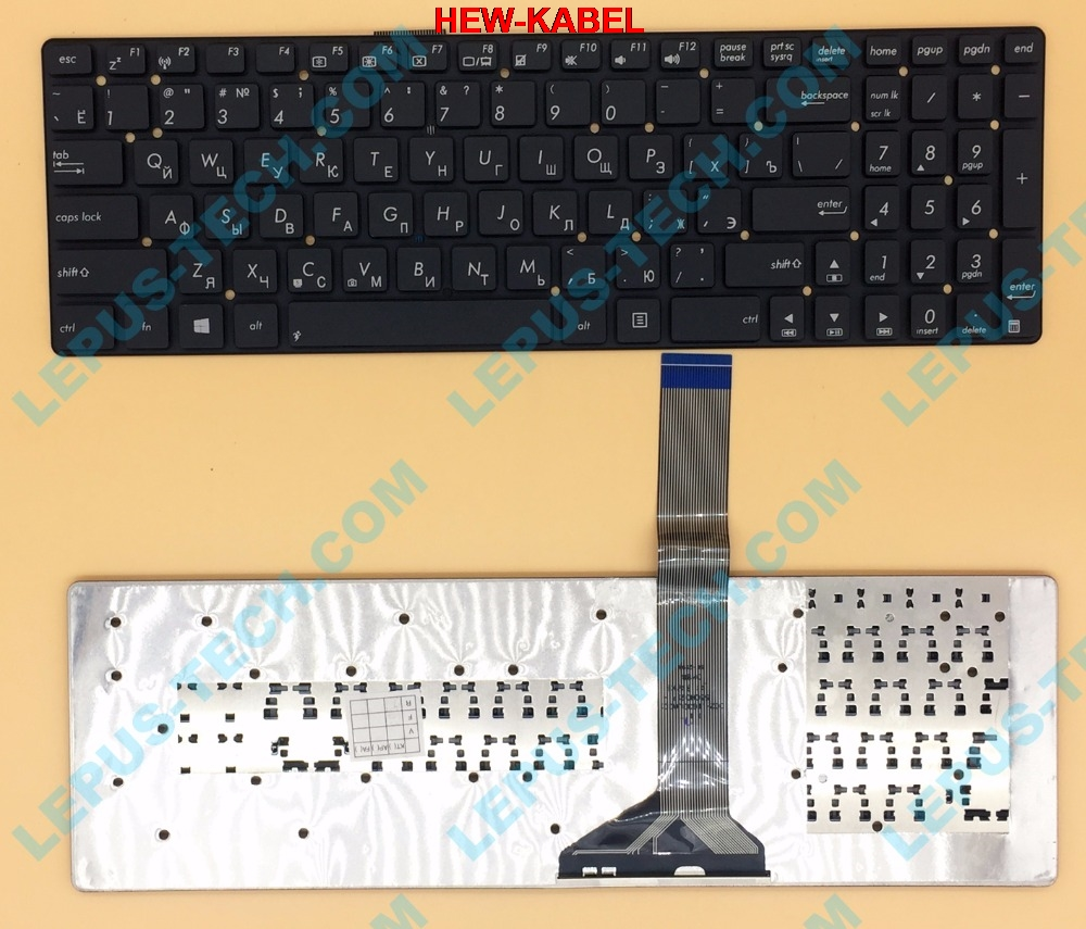 Original RU Tastatur für ASUS K55 A55V K55V A55VM K55VD R500v R700V A751 K751 tastatur Russische