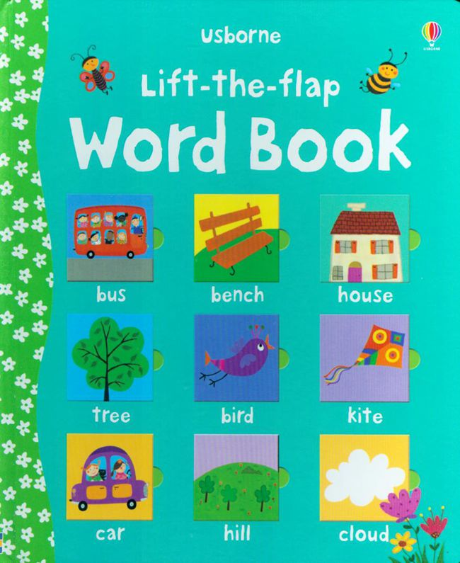 lift the flap word book Baby board books learning and educational picture story books Stereo book learning word Wholesale trendy weaving and gradient color design wallet for women
