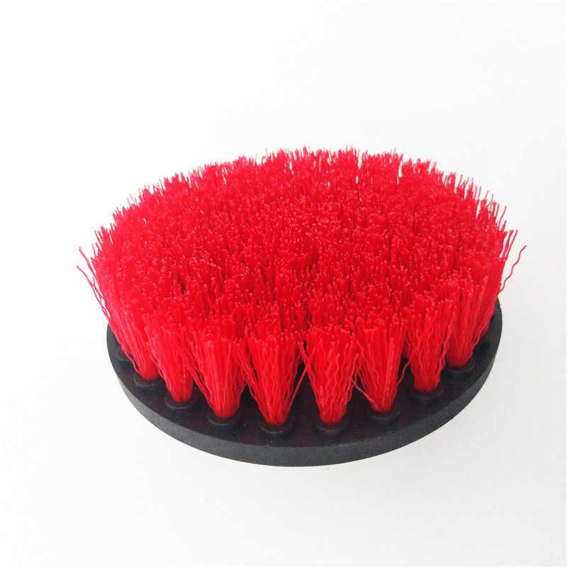 4 pcs חשמלית כוח מברשת כוח לשפשף ניקוי ערכת נקי עבור משטחי אמבטיה יד כלי סט dropshipping משלוח חינם