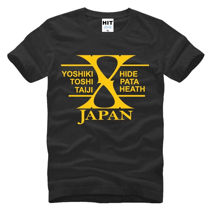 Japanski rock bend X-JAPAN Tiskana Muška Muška Majica Majica Moda - Muška odjeća - Foto 4