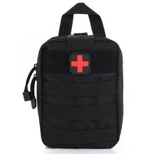 Tactical First Aid Bag Nylon Medical Military Utility Pouch Rescue Package Outdoor Travel Hunting Hiking MC889(China)