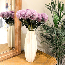 Artificial flower Dandelion Hyacinth ball Decorative Fake Flowers for Wedding Home Garden Decoration Floral 57CM