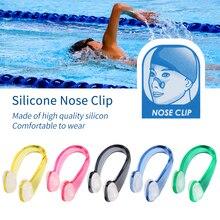 9d7fdbf86 CALOFE 1 piezas piscina Clip de la nariz tapones para los oídos de silicona  suave nadador