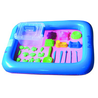 26PCS Dynamic Amazing No Mess Indoor Magic Play Sand Children Toys Mars Space Inflatable Sand Tray