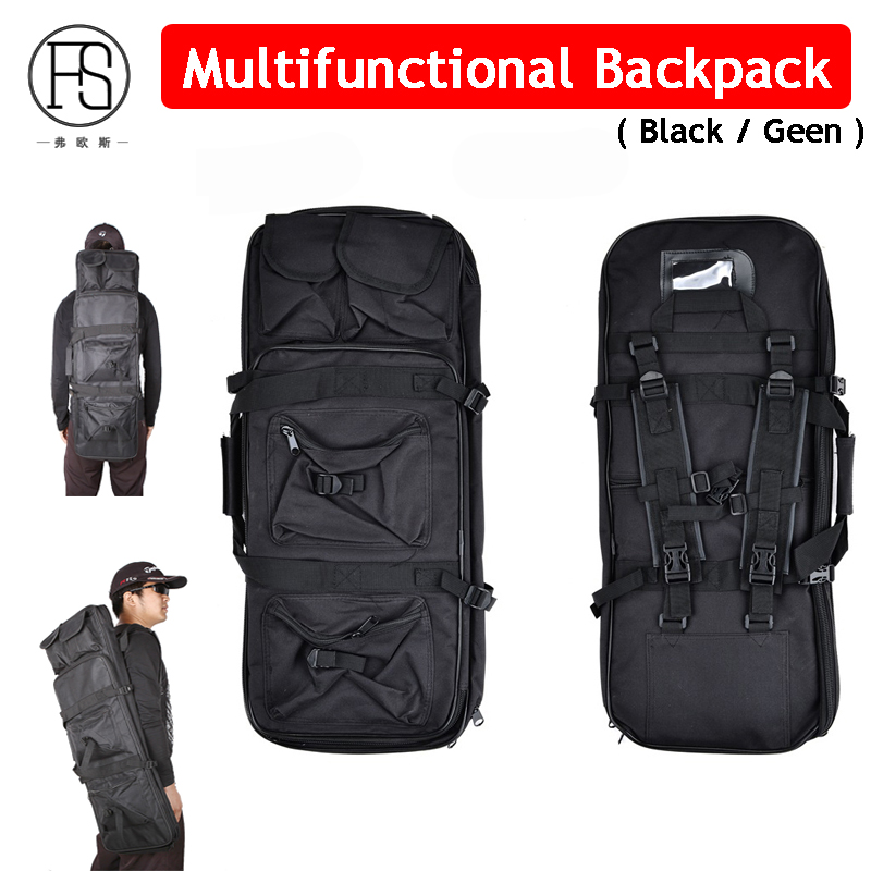 Hot Sale 81cm Nylon Tactical Hunting Rifle Shoulder Backpack Army Military Backpack Gun Holster Backpack Hand Carry Sport Bag
