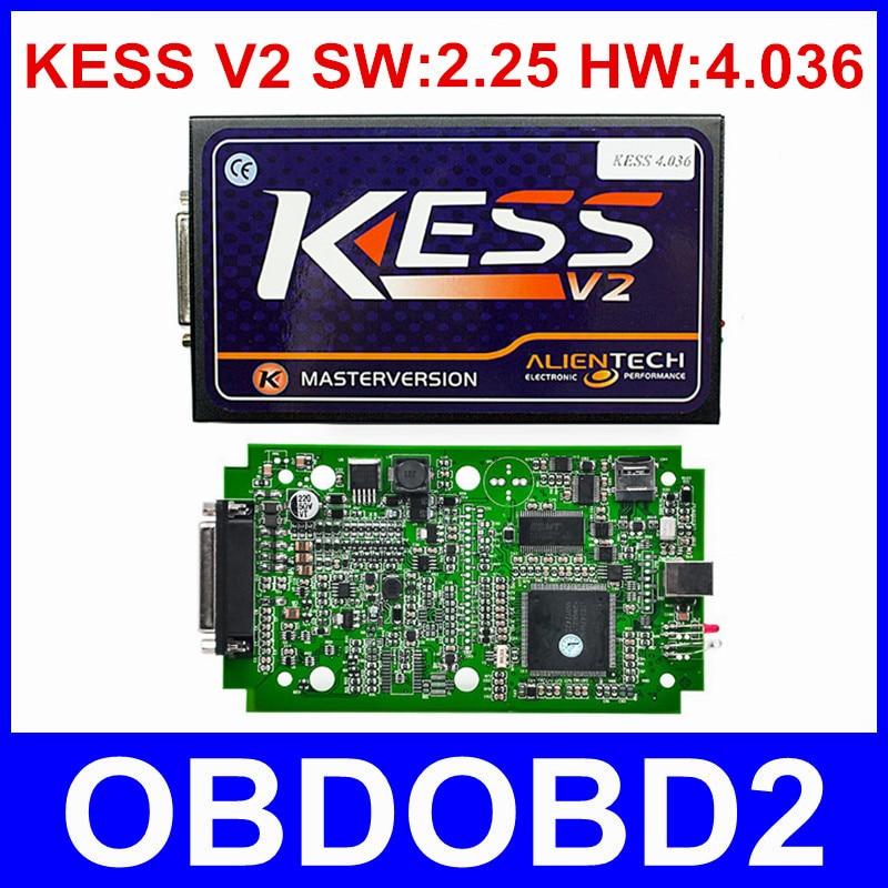 Best Quality KESS V2 V2 25 OBD2 Manager Tuning Kit HW V4 036 No Tokens Limited