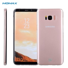 MOMAX Coque Чехлы для Samsung S8 s 8 плюс Crystal Clear Жесткий ПК Мягкий чехол для Galaxy S8 + S8plus G950 G955 прозрачный