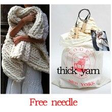 500g Super Starke Garne zum Stricken High Grade Dickes Garn für Hand Stricken Wolle Garn Winter Warme Crochet Free Nadeln Comely