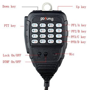 Image 4 - Baofeng BF 9500 UHF 400 470MHz 200CH CTCSS/DCS/DTMF Transceiver, 50W/25W/10W Car Mobile Vehicle Radio