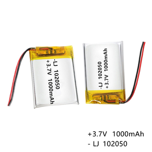 3.7 V 1000mAh 102050 Lithium-i