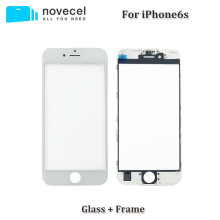 Novecel A+ 2 in 1 Cold Press LCD Front Screen Glass Outer Lens with Frame for iphone 6 6s 7 plus screen glass Replacement