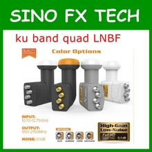 Factory price premium universal ku band quad lnb quad lnbf low noise 0.1dB