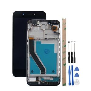 Image 2 - Huawei 명예 6A DLI TL20 DLI AL10 LCD 디스플레이 및 터치 스크린 + 프레임 어셈블리 Huawei 명예 6A 프로 LCD + 도구에 대 한 ocolor
