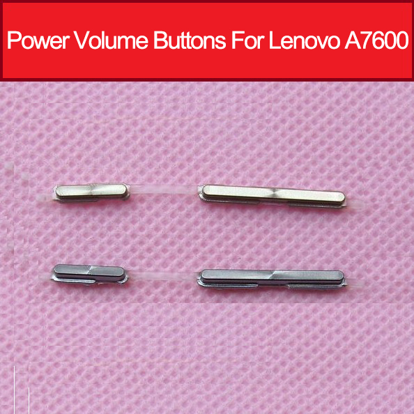 Genuine Power Volume Side Buttons For Lenovo A7600 S8 Volume Power Switch Side Key Flex Cable Replacement Parts
