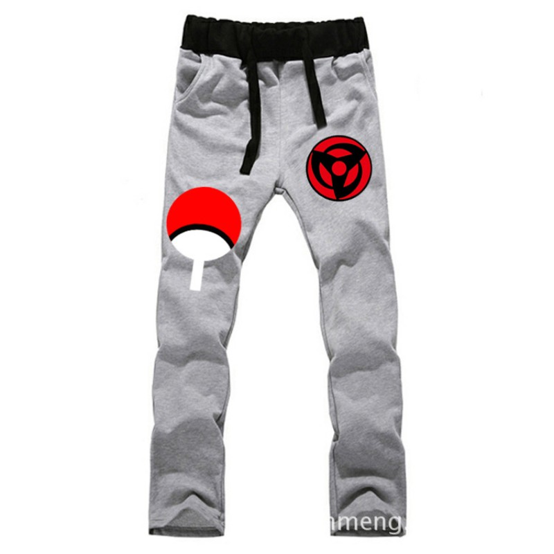 Anime Naruto Sasuke Syaringan LOVERS pantalones de algodón puro - Ropa de hombre - foto 1