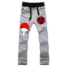 Anime Naruto Sasuke Syaringan LOVERS pure cotton pants sports casual trousers cosplay gift NEW Fashion
