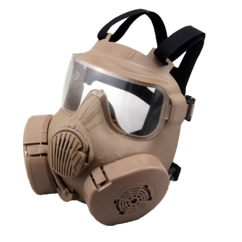Paintball tactique Airsoft jeu Protection du visage masque de sécurité garde M50 masque à gaz - 6