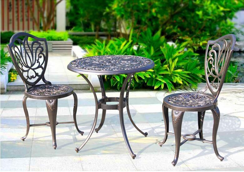 w wholesale outdoor cast aluminum patio furniture
