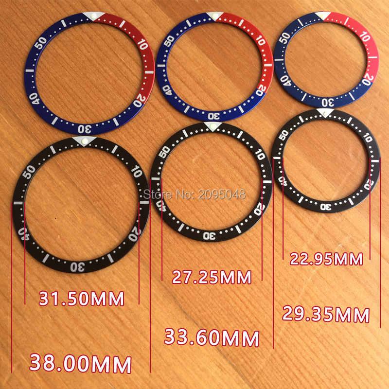 Luminous Luminous watch pepsi bezels inserts loop for Seiko