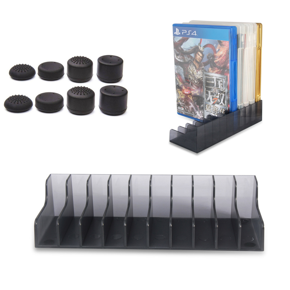 2pcs-lot-for-sony-font-b-playstation-b-font-4-ps4-game-card-box-storage-stand-holder-for-20pcs-cd-disks-or-card-holders-support-8-grip-caps