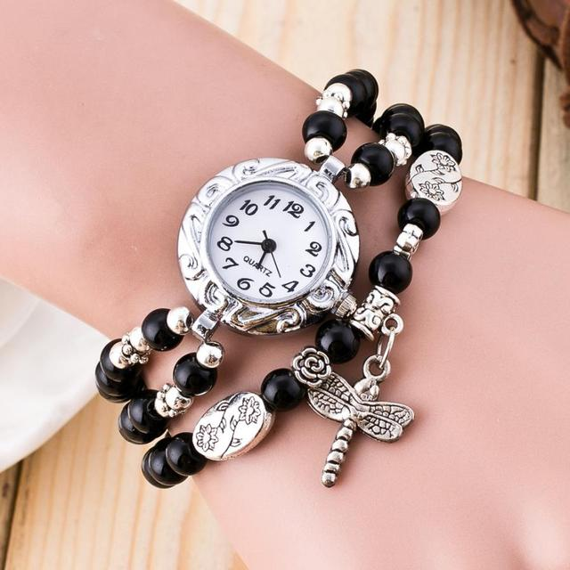 Fashion Brand New Luxury Leather Bracelet Watch Ladies Quartz Watch Casual Women