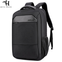 Casual Business Men S Computer Backpack Multifunction Large Capacity Laptop Backpack 15 6 Waterproof Oxford Black