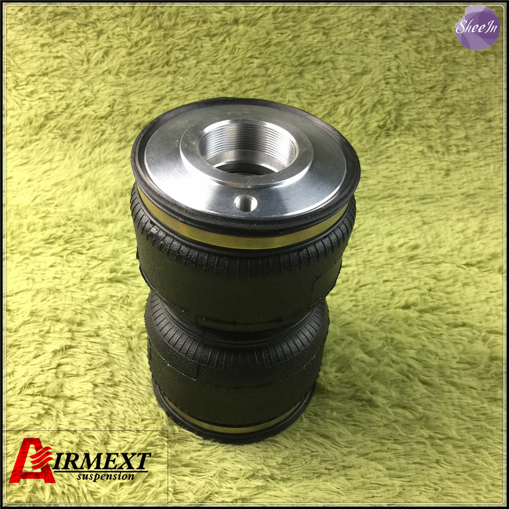 SN120180BL2 DT1 S Fit D2 coilover Thread pitch M50 2mm Air suspension Double convolute rubber airspring
