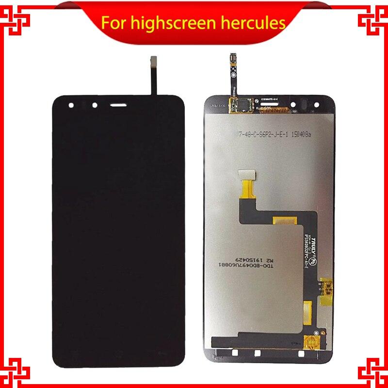 LCD Screen Display For Highscreen Hercules LCD Screen +Touch screen display assembly For Hercules Original Quality