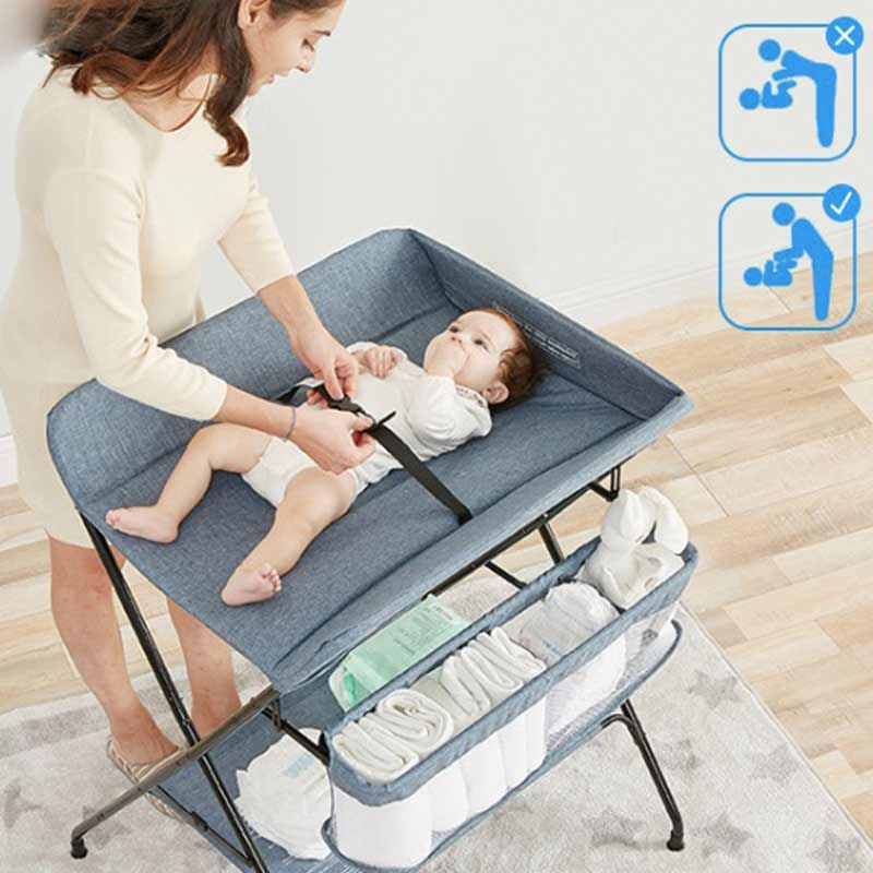 New Multifunctional Children's Changing Diapers Stitching Bunk Cradle Bed Diaper Bed Kids Bed Baby Dining Bed