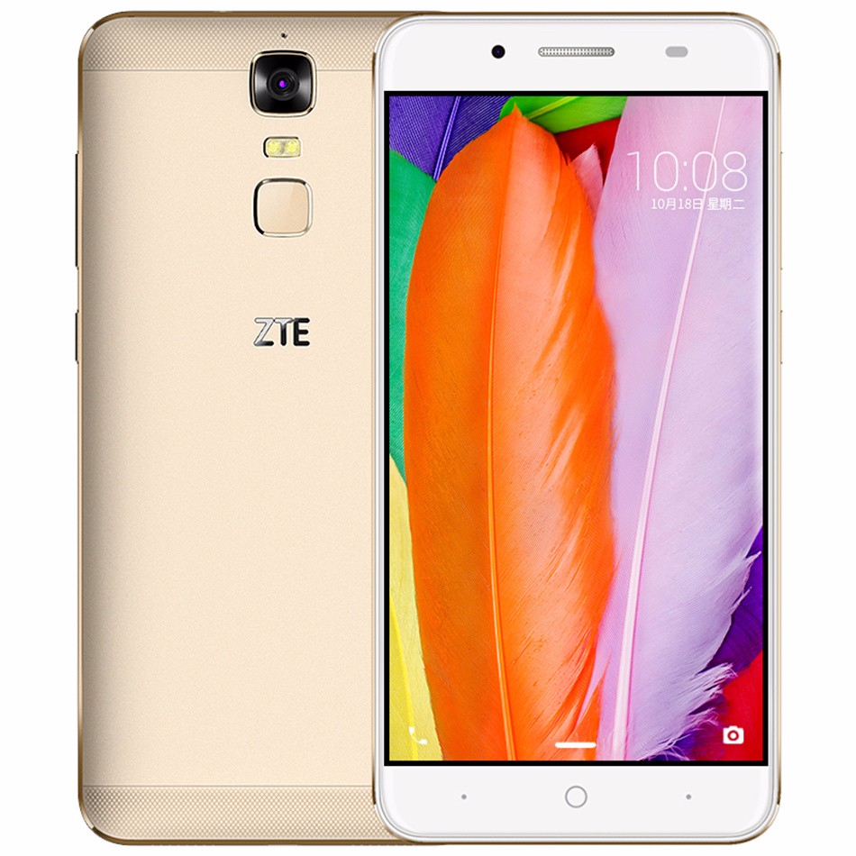 "Цена за Оригинал ZTE Blade A2 Plus 5.5 ""FHD 1920x1080 Окта основные 5000 мАч Заряд Обратного 3 Г RAM 32 Г ROM Android 6.0 Металлический Корпус отпечатков пальцев"
