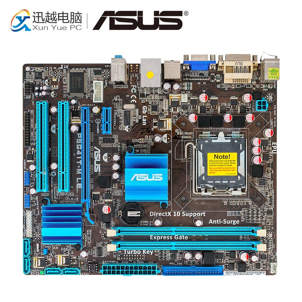 Asus P5G41T-M LE Desktop Motherboard G41 P5G41T-M LE LGA 775 8G DDR2 USB2.0 u ATX asus p5g41t m le desktop motherboard g41 p5g41t m le lga 775 8g ddr2 usb2 0 u atx