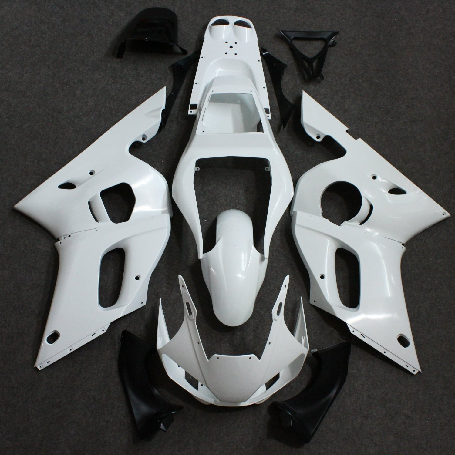 Motorcycle Unpainted Fairing Kit for Yamaha YZF R6  YZF-R6 1998-2002 1999 2000 Fairing Bodywork Kits 6 colors cnc adjustable motorcycle brake clutch levers for yamaha yzf r6 yzfr6 1999 2004 2005 2016 2017 logo yzf r6 lever