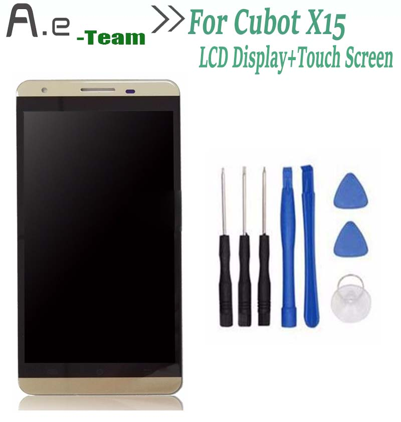 NEW High Quality For Cubot X15 LCD Display+Touch Screen Digitizer Replacement For Cubot X15 5.5inch Smartphone +Tools