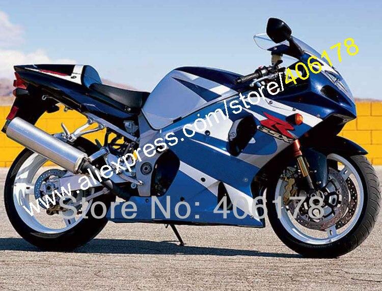Hot Sales,For SUZUKI GSXR 1000 K2 2000-2002 GSXR1000 00-02 R1000 Blue White Custom motorcycle fairing Kit (Injection molding) 2 2 4 2018 02 18t17 00