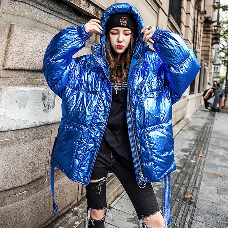 Femme Nouveau Chaud Parka 054 Vers Le Vestes Veste Épais Manteau Blue De Coton Mode Étanche red Pour Bas 2019 Long Hiver Femmes 6vr6nwqZO
