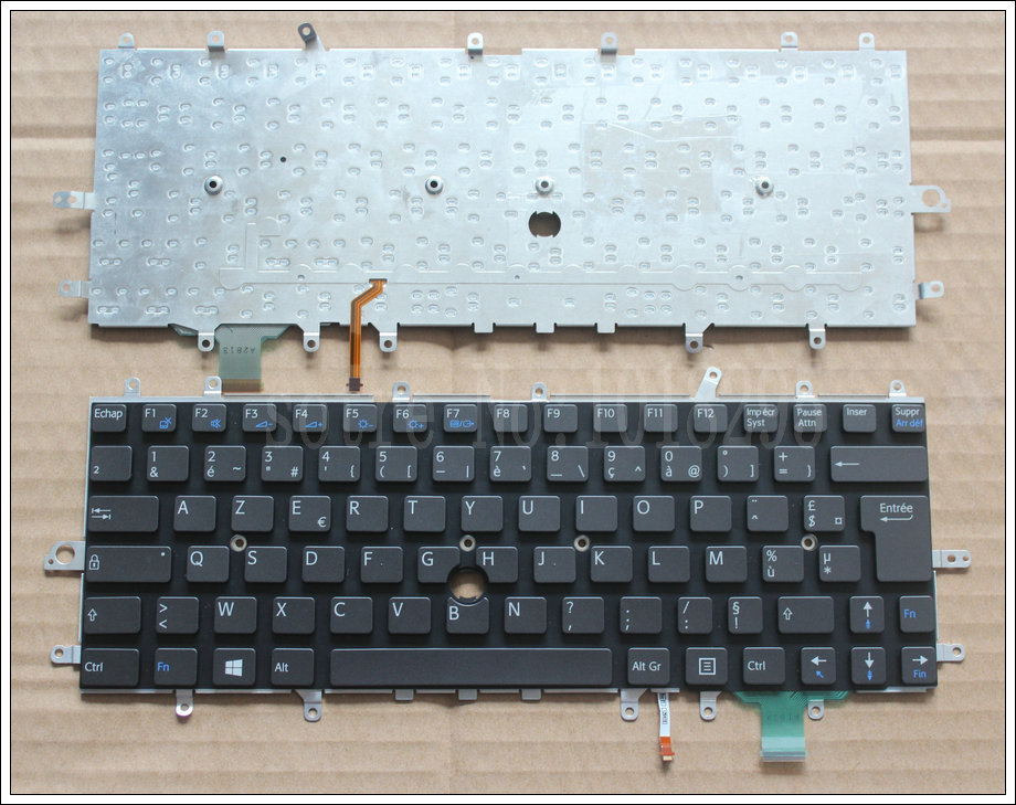 цены New French Laptop Keyboard for sony vaio Duo 11 SVD11 D11 SVD11218CCB SVDII219CC SVD112A1SW FR Backlit keyboard