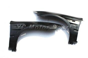 Автомобиль Интимные аксессуары углерода Волокно двойной вентилируемый переднего крыла, пригодный для 1992-1995 CIVIC EG 3dr хэтчбек переднее крыло ...