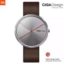 Males's Watch X Sequence Xiaomi CIGA Design Wristwatch Reddot Winner Watch Trend Easy Retro Leisure Leather-based Couple Quartz Clock
