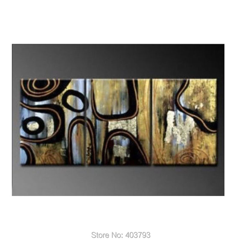 Oil Painting on Canvas Art Large Abstract Picture Wall Decor 24x48 No Frame For Living Room in Painting Calligraphy from Home Garden