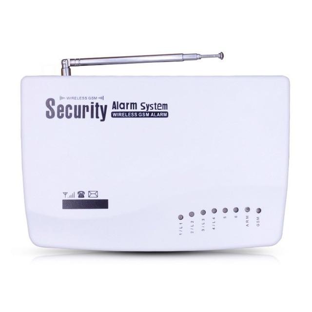 Best Price Home Security GSM Alarm systems English/Russian Voice Prompt Alarm Sensor kit Wireless door Sensor PIR Sensors