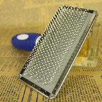 Stainless Steel Dog Needle Massage Comb Shears Dog Grooming Comb Hair Care Appareil Dog Products Trim 5000