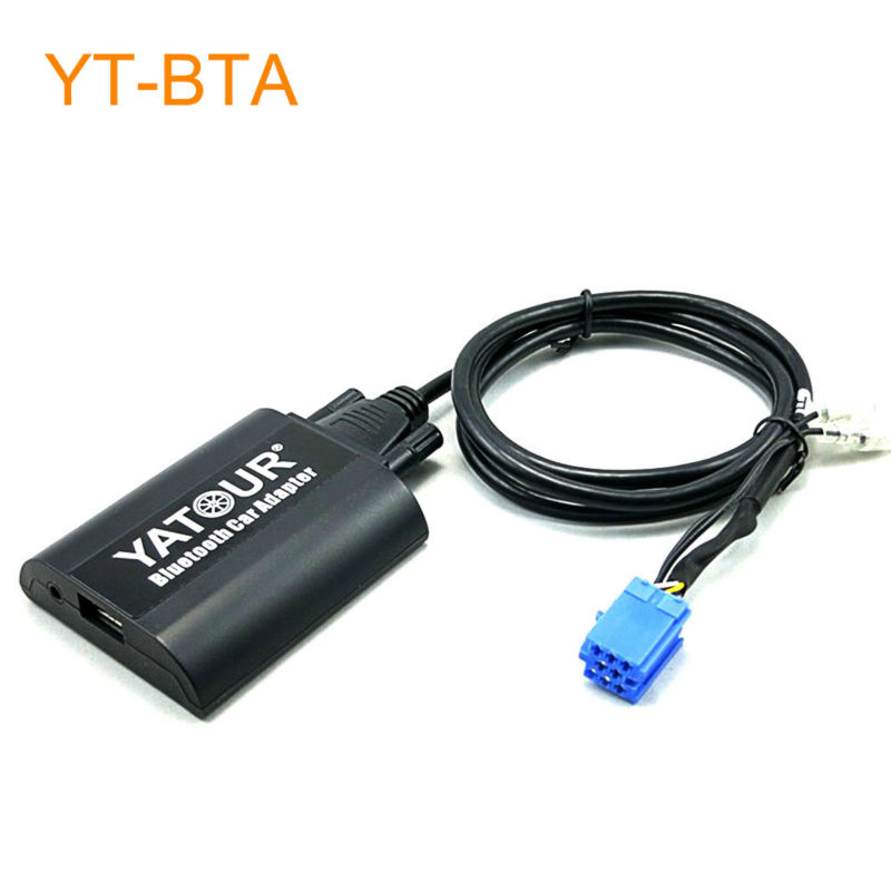 Yatour BTA Car Bluetooth Adapter Kit for Factory OEM Head Unit Radio for Citroen C3 C4 C5 C8 Xsara car usb sd aux adapter digital music changer mp3 converter for skoda octavia 2007 2011 fits select oem radios